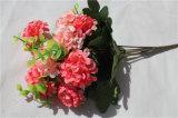 공장 공급 실내 장식을%s 소형 인공적인 Hydrangea 꽃