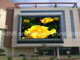 P10-2's Outdoor Full Color Display Screen Rental Gabinete de alumínio