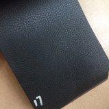 0.9mm weiches auf lagerchemiefasergewebe Belüftung-Leder für Handtaschen-Schulter-Beutel Hx-B1757