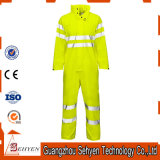 High Visibility Coverall Workwear Airport Workwear avec bande réfléchissante