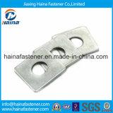 Acier inoxydable DIN436 304/316 rondelle carrée