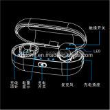 , Fone de ouvido sem fio verdadeiro invisível & confortavelmente cabido de Bluetooth
