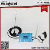 Alto Ganancia 25dBm 2000m2 GSM 900MHz 2g Moble Repetidor de señal