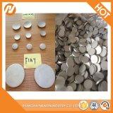 Oberflächentemperament-Aluminiumtypenstein-Kreis-Blatt des tumbling-O