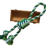 Geknotetes Seil-Spielzeug für konkurrenzfähiges Chewers und Spiel