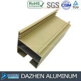 Профиль алюминия 6063 двери окна алюминиевый с подгонянным цветом размера