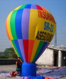 Grande aerostato a terra gonfiabile di pubblicità con il vostro marchio