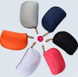 Sac coréen d'article de toilette de sac de mémoire de sac d'embrayage de forme de demi-cercle de type