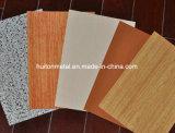 Feuille enduite de l'acier PPGI/PPGL de couleur en bois de configuration dans la bobine