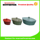 Vaschetta di ceramica di torrefazione del commercio all'ingrosso antico di disegno