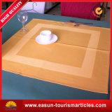 Guardanapo 100% do Tablecloth do hotel do algodão do branco/pano de tabela jacquard do Tablecloth