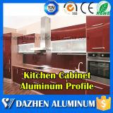 Uso de aluminio de los muebles del perfil para el perfil del borde del marco de cabina