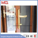 Portes en verre en verre en aluminium Fenêtres fabriquées en Chine