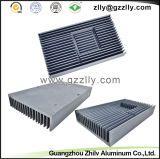 El aluminio modificado para requisitos particulares sacó radiador del disipador de calor