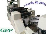 Machine de papier de serviette automatique à grande vitesse d'impression et de graver