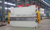 Máquina de dobramento hidráulica da placa de aço de carbono Wc67y-400X6000