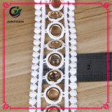 Modèles classiques Dentelle en polyester satiné en soie pour vêtements