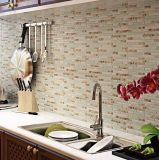 Materiales de construcción de Gaza aleatoria cristal mosaicos para Entrepaños de cocina