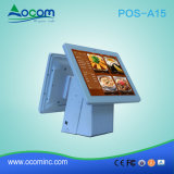 Pos-A15 PC Touch Screen All van Electronic Cash Register/POS in One met Printer