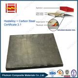 Lamiera placcata di saldatura esplosiva d'acciaio di Hastelloy C276