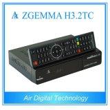 Super Venda Quente Zgemma H3.2tc Receptor por Satélite/Cabo SO Linux Enigma2 DVB-S2+2xdvb-T2/C sintonizadores duplos