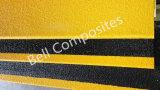 Cubierta de la pisada de escalera de FRP, escalera que olfatea, cubierta antirresbaladiza de GRP/Glassfiber de la fibra de vidrio