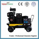 Diesel de 186 potente generador de soldador con compresor de aire