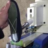 Máquina de comprensión superior del último semi automático del zapato