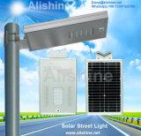 20watts屋外のオールインワン統合された太陽LEDの庭の街灯