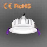 IP65 impermeabilizan la CA fundida a troquel cambiable 100-240V del CCT Downlight