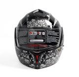 점 두 배 챙 Casco Moto를 가진 승인되는 모듈 여행 기관자전차 헬멧
