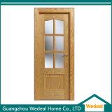 Porta de madeira contínua da noz/carvalho da alta qualidade para o projeto do hotel