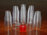 Plastikschuss-Glas, kleines Probieren-Glas 1oz