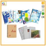 Kunstdruckpapier, Yo Schwergängigkeit, buntes Notizbuch-Drucken