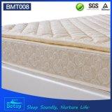 Colchón resiliente de la cama de las naturalezas del OEM el 24cm alto con la capa de espuma resistente y el resorte de Bonnell