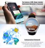 D5 плюс Wristwatch ROM франтовского RAM 4GB WiFi 512MB камеры Bluetooth GPS вахты франтовской