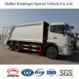 18cbm camion diesel del costipatore dell'immondizia dell'asse 6X4 di Dongfeng Kinland 3 dell'euro 4