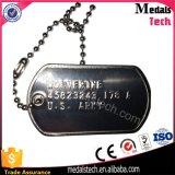 Morrer Tag do cão de guerra do metal da espessura da liga 2mm do zinco da carcaça