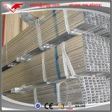 소형 30-120G/M2 전 직류 전기를 통한 정연한 직사각형 강철 관