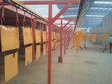 Línea de capa del polvo para los productos de metal