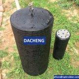 Enchufe del tubo de desagüe de las aguas residuales