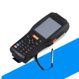 PDA tenuto in mano con NFC, 3G, WiFi, 58mm stampatrice termica e scanner del codice a barre