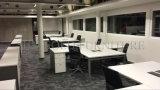 Modern Open Workstation White Glossy Móveis de escritório minimalista (SZ-WS114)