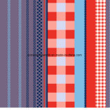 100%Polyester de Afgedrukte Stof van de Verfdoos Pigment&Disperse voor de Reeks van het Beddegoed