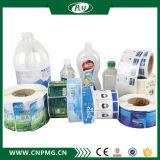 Étiquette adhésive imperméable à l'eau estampée privée de collant pour l'empaquetage de l'eau