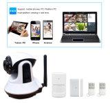 무선 WiFi GSM 경보망 지원 APP 통제 가정용품 실시간 모니터 사진기 주택 안전 경보망