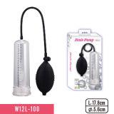 La pompe 7'' avec manchon PVC et Big Agrandisseur de pénis de l'ampoule pour Adult sex toy de la pompe