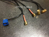 Uitstekende kwaliteit 50ohm Coaxiale Kabel TweelingRg174