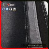 Tessuto nero del denim dello Spandex di colore 20s+21s+70d per l'indumento