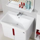 側面のキャビネットとの衛生製品MDFの浴室用キャビネットの虚栄心